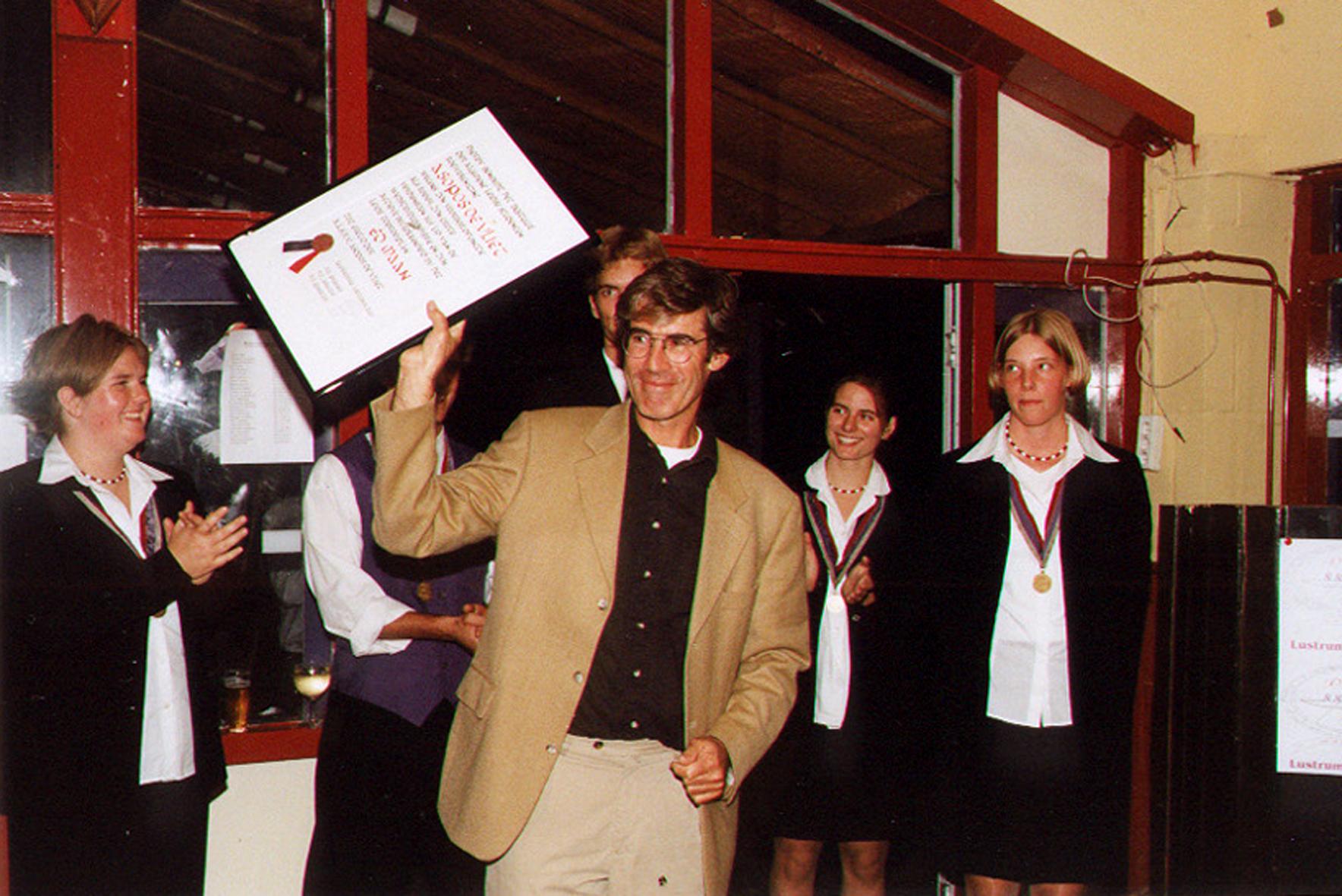 2001-Ed Maan wordt ere-lid